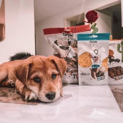 Ruby est fan de nos délicieuses friandises ♥️  @_coline_coco_